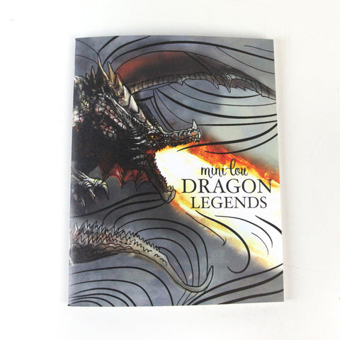 Dragon Legends  8.5 x 11 Coloring Book