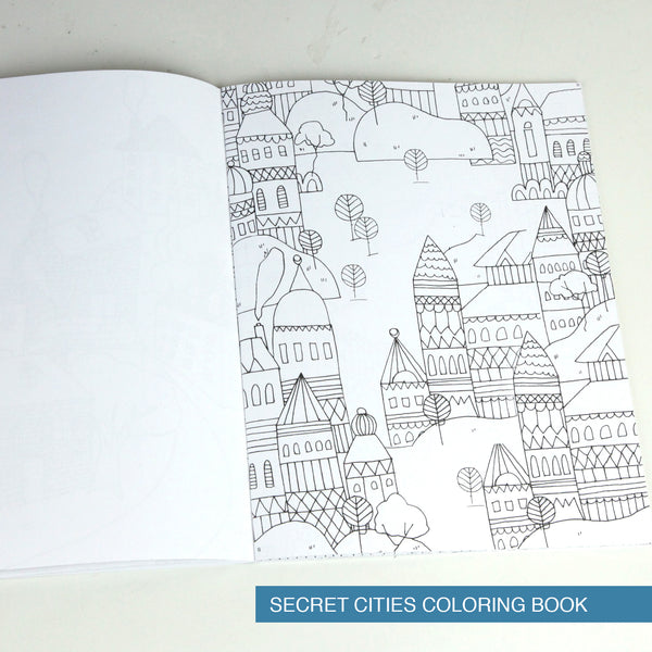 Heavy Coloring Books and Watercolors