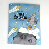 Space Explorers 8.5 x 11 Coloring Book