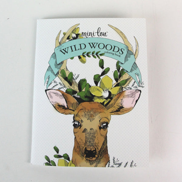 Wild Woods 8.5 x 11 Coloring Book