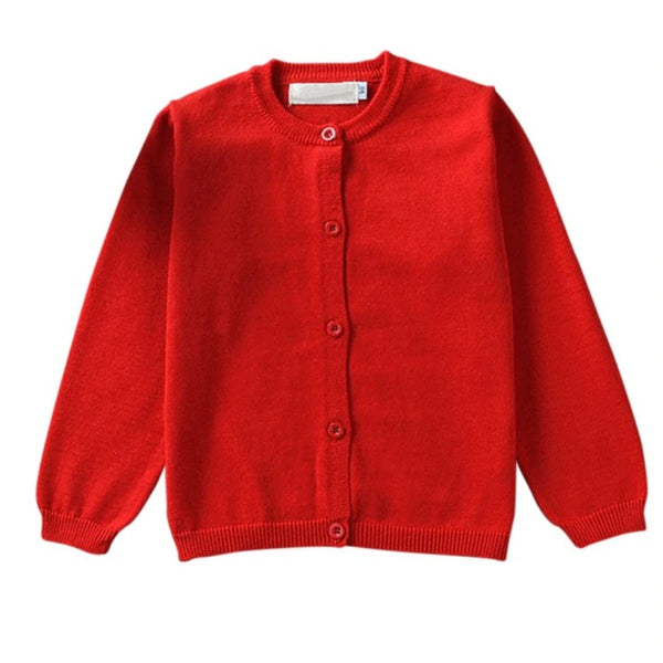 Layering Cardigan - Red