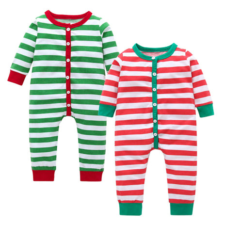 Christmas Baby Pajamas - Alex and Sawyer