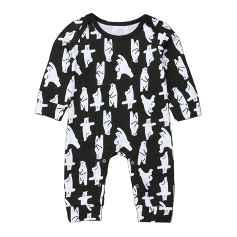 Christmas Baby Pajamas - Polar Bear