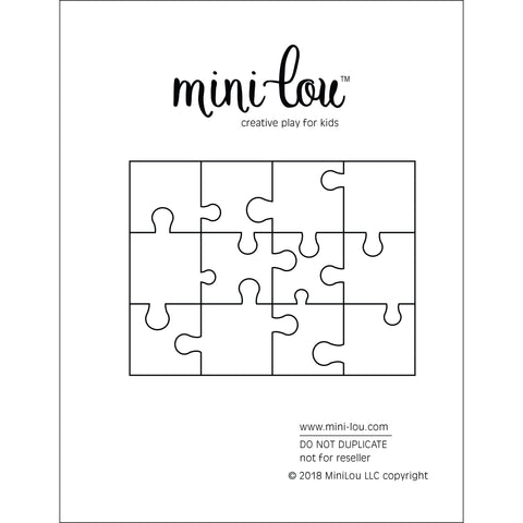 Paper Puzzle | Digital Printable | Free