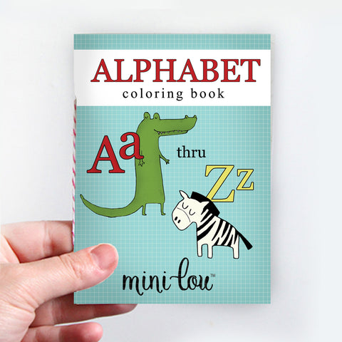 Alphabet Coloring Book | Digital Printable