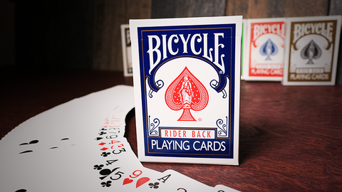 Bicycle Playing Cards Poker (Blue) - Playing Cards