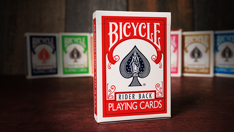 Bicycle Playing Cards Poker (Red) - Playing Cards