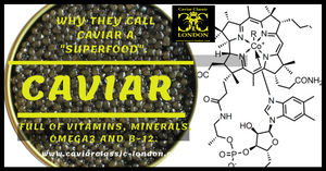Health facts about caviar.