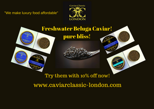 Can our Popular Freshwater Beluga caviar get any better?