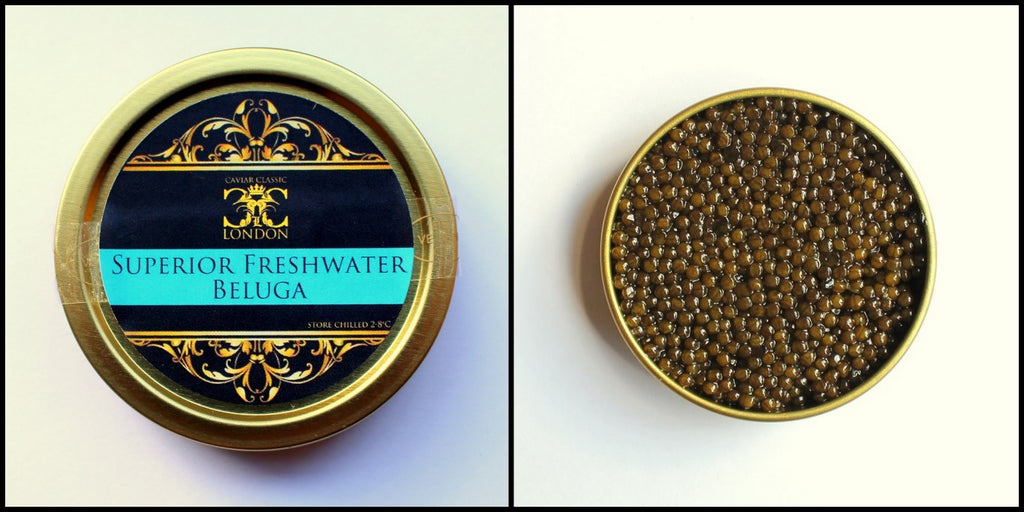 Caviar of the Month. February: Superior Freshwater Beluga. A stunner.