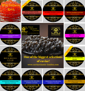 We are constantly looking to expand our caviar range.