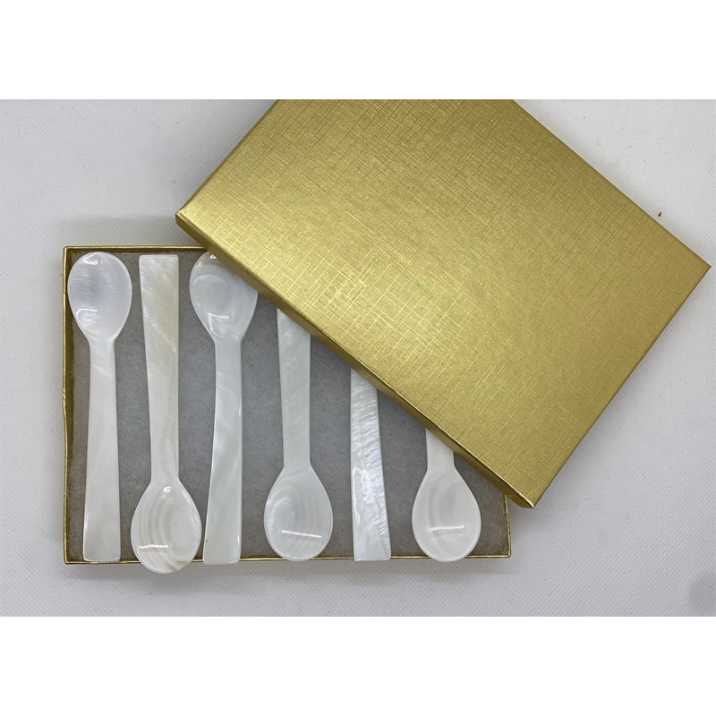 Large Mother of Pearl spoons - Caviar Classic London