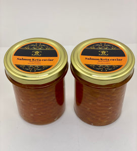 Salmon Keta  row(wild) 50/100/200 gr. Jars. - Caviar Classic London
