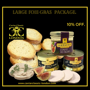 Our Gourmet selection. 10% off, plus choose 4, get 4th/cheapest FREE. - Caviar Classic London
