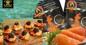 Scottish Smoked Salmon 400 gr -1kg.  2-3 days delivery time. - Caviar Classic London