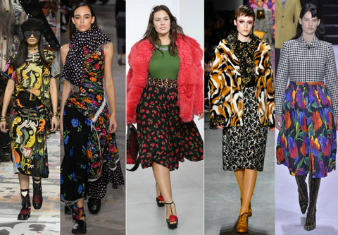 2018 Fall Fashion Trends Busy Prints