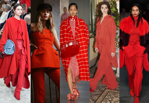 2018 Fall Fashion Trends Red