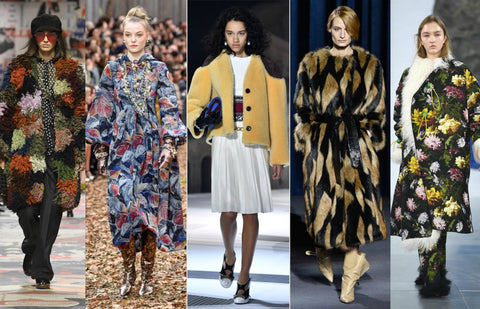 2018 Fall Fashion Trends Statement Coats