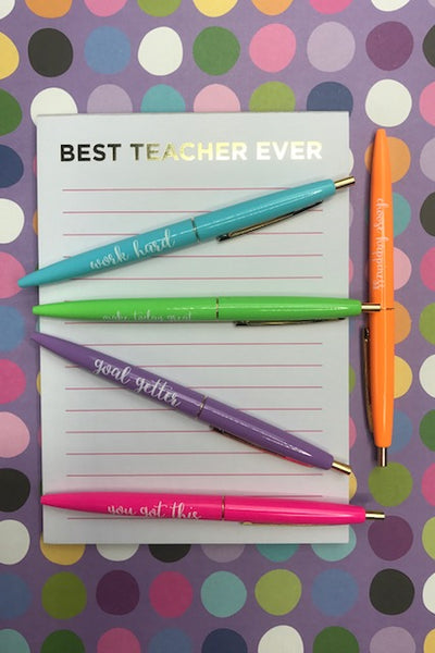 Motivational Pen Set