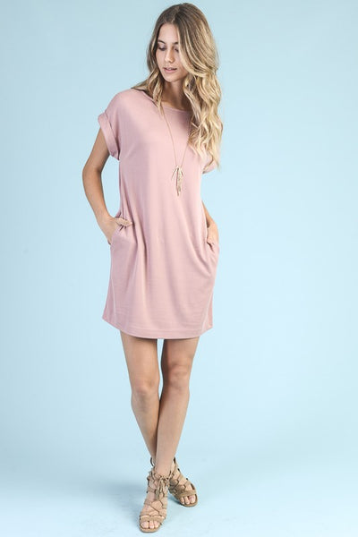 Relaxed Fit Tee Dress