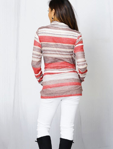 Grainy Stripes Tunic