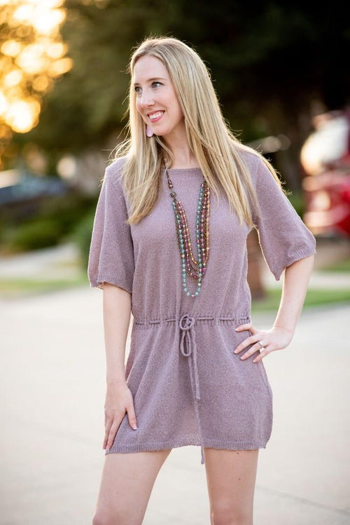 Cool Knit Cross Back Dress