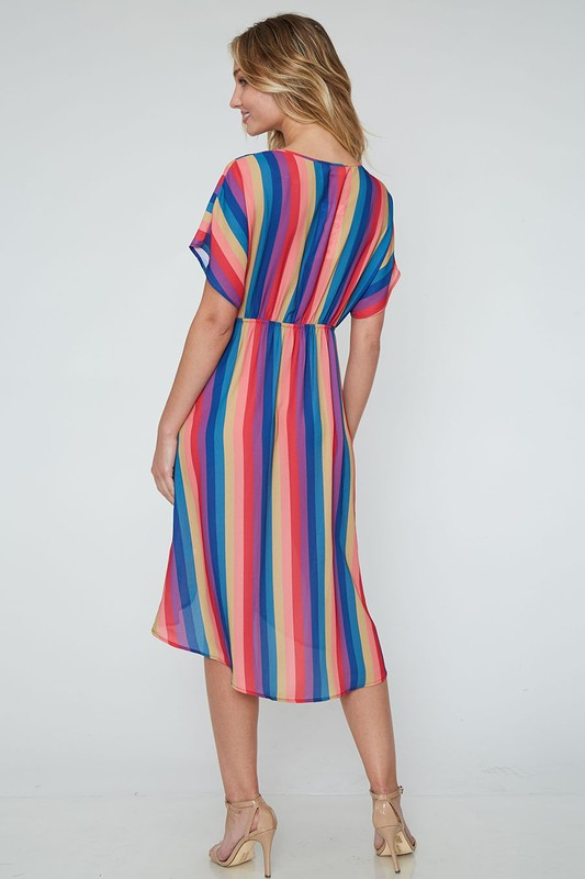 Woven Stripes Dress