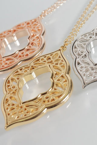 Marquee Filigree Necklace
