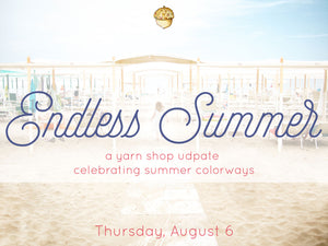 Endless Summer - celebrating summer colorways