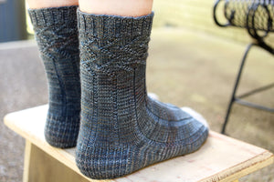 summit socks - a free pattern