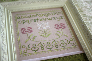 rosamonde sampler - design details