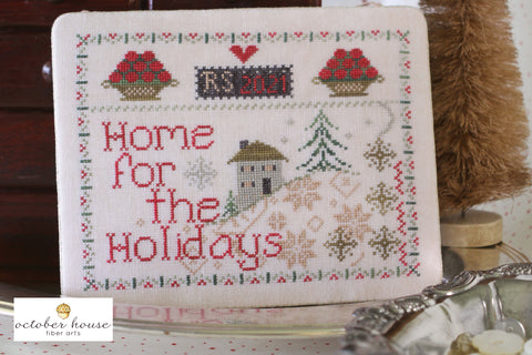 home for the holidays - needlework expo preview - october house fiber arts