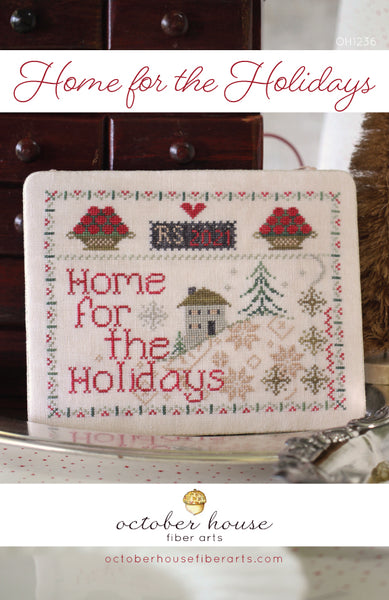 Home for the Holiday #OH1236 - October House Fiber Arts - Needlework Expo