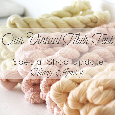 our virtual fiber fest - october house fiber arts journal