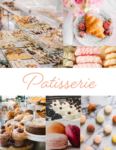 patisserie mood board