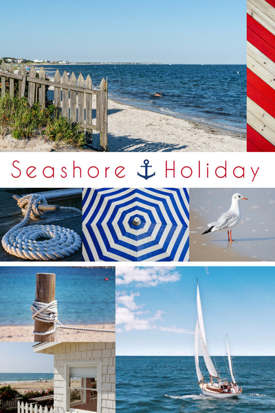 seashore holiday sock club - october house fiber arts journal