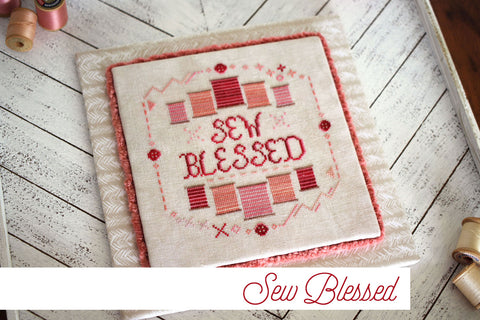 sew blessed - needlework expo preview - october house fiber arts journal