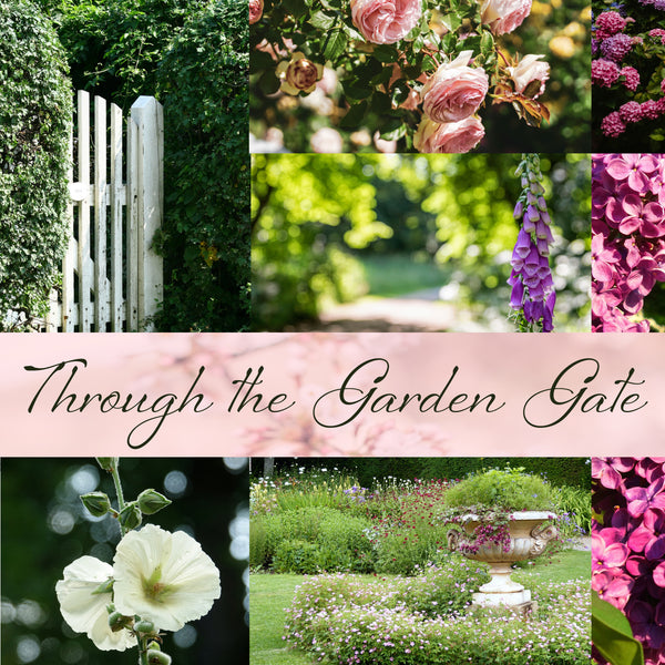 through the garden gate - october house fiber arts journal