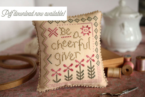 cheerful giver pdf pattern now available - october house fiber arts