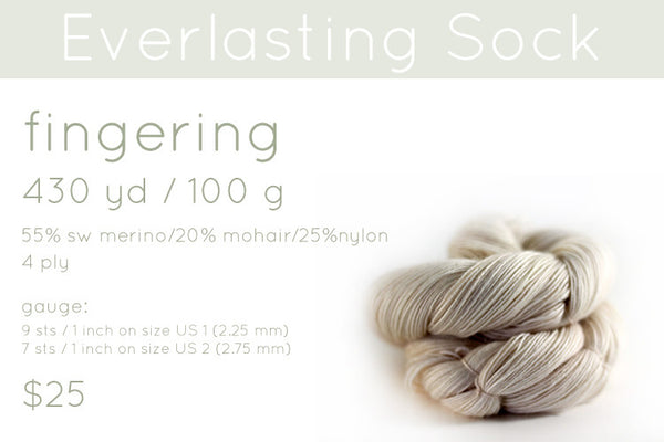 everlasting sock