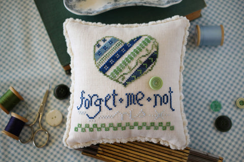 forget me not - october house fiber arts - may 2021 new release