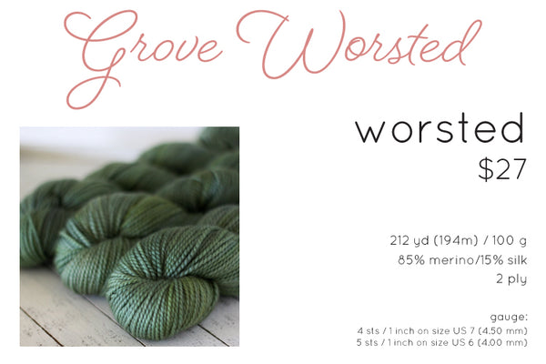 grove worsted