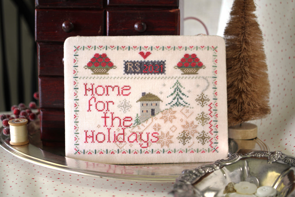 Home for the Holiday #OH1236 - October House Fiber Arts