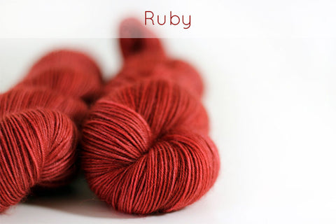 ruby (substitute with velvet)