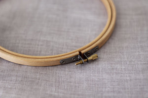Wooden Embroidery Hoop - 7 inch