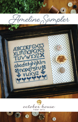 Ameline Sampler - Cross Stitch Pattern