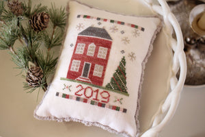 Evergreen House - Cross Stitch Pattern