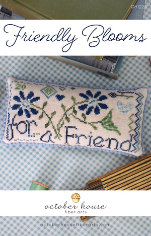 Friendly Blooms - Cross Stitch Pattern