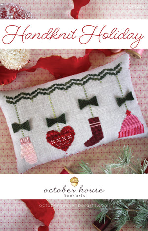 Handknit Holiday- Cross Stitch Pattern
