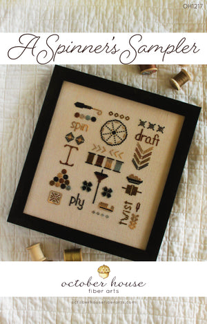 A Spinner's Sampler - Cross Stitch Pattern